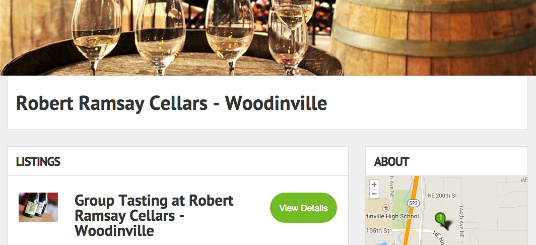 Get booked on the Wineries directory